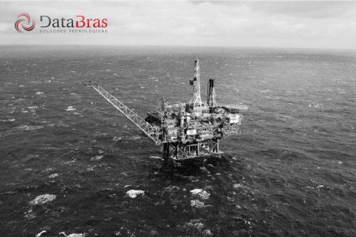 Plataforma de petróleo da Halliburton utilizando Repetro-Sped Databras