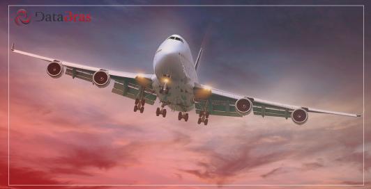 Avião ilustrando a tabela do siscomex de importação